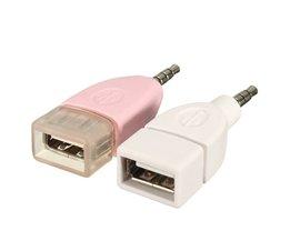 3.5 MM to USB Converter in 2 Kleuren