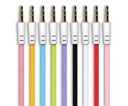 Auxkabel in Verschillende Kleuren voor Computer & Etc