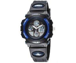 Horloge in Roze of Zwart