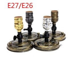 Vintage Socket Voor E27 & E26 Lampen