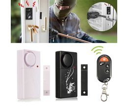 Draadloos Alarmsysteem voor Deur en Raam