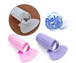 Transparante Nail Art Stamper