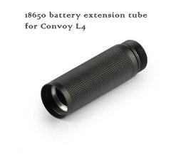 Extra Batterij Houder voor de Convoy LED zaklamp