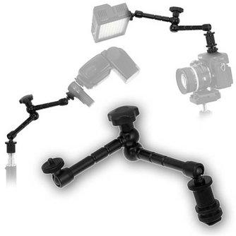 Scharnierarm (28 cm) voor LCD, LED en Camera