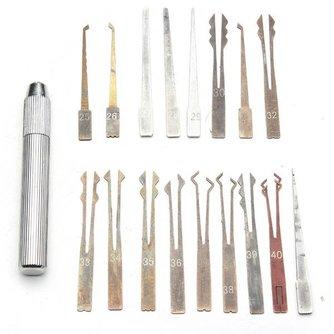 Lockpick Tools Per Set van 18 Stuks