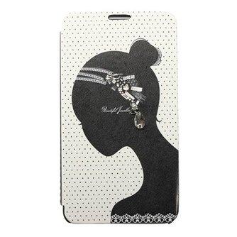 Flipcase Met Diamantjes Voor Samsung Galaxy Note 3