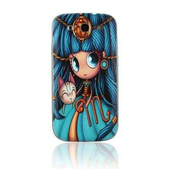 Beschermhoesje met Illustratie voor de Samsung Galaxy S3 i9300