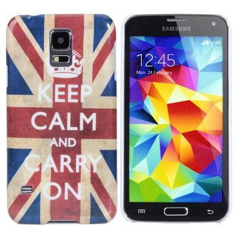 Beschermhoesje met Engelse Vlag voor de Samsung Galaxy S5