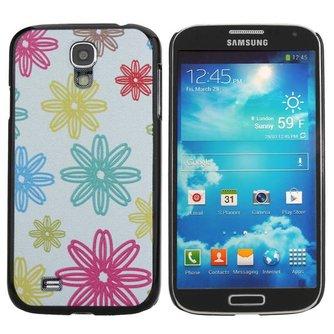 Beschermhoesje met Bloemenpatroon voor de Samsung Galaxy S4 i9500