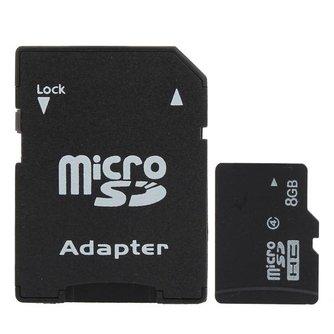 8GB SD Geheugenkaart voor Mobiel,MP3 en MP4