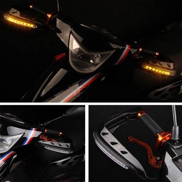 Handkappen met LED Verlichting voor de Motor I Seoshop NL (SuperTip)