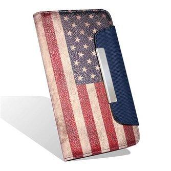 Hoesje met Amerikaanse vlag of Engelse vlag voor de Samsung Galaxy S6 Edge