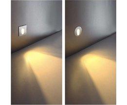 1W Ronde Inbouwlamp LED