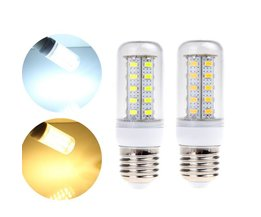 LED Buislamp met E27 Fitting Wit/Warm Wit Licht
