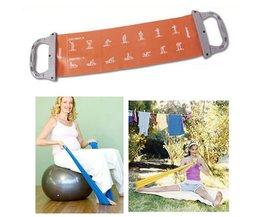 Fitness Elastiek Band Yoga