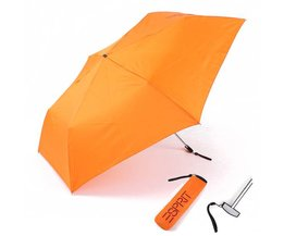 Paraplu in Oranje of Zwart