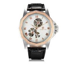 Horloge in Rosegoud