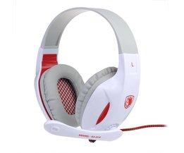 Sades SA 808 Koptelefoon met Microfoon