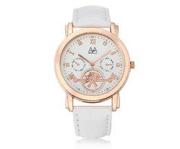 Horloge met Zwarte of Witte Band