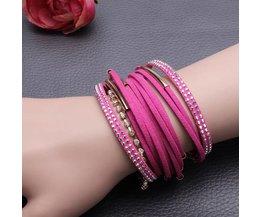 Rhinestone Bracelets met Magnetische Sluiting