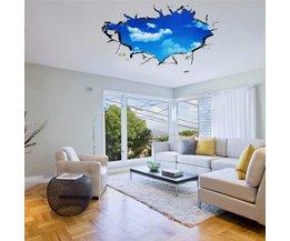 Plafond-Sticker met Lucht