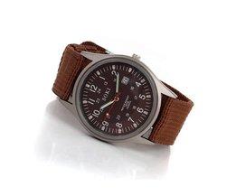SOKI Horloge Met Horlogebandje Van Stof