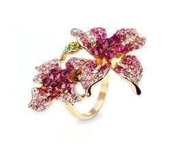 Ring met Bloem Design