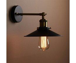 Vintage Muurlamp Met E27 Fitting