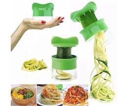 Groente Fruit Spiral Slicer Wortel Komkommer Rasp Spiral Blade Cutter Salade Gereedschap Courgette Pasta Noodle Spaghetti Maker ZMHEGW
