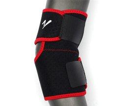 1 stks Sport Praktische Verstelbare Elastische Knie Elleboog Brace Strap Outdoor Zwart + RoodKoop Safurance
