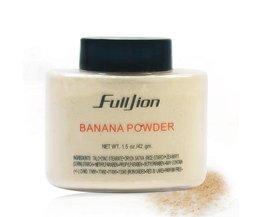 Fulljion Banaan Losse Poeder Make Whitening Huid Olie-Controle Base Gezicht Poeder Cosmetische Voor Gezicht Foundation Beauty fulljion