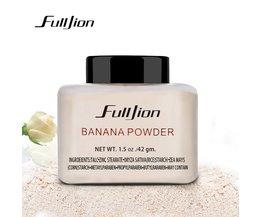 FulljionBanaan Poeder 42g Fles Luxe Poeder Banaan Losse Gezichtspoeder Foundation Makeup highlighter voor gezicht fulljion