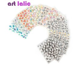 10 Stks Sheets Nail Art Transfer Stickers 3D Ontwerp Manicure Tips Decal Decoraties hoge kwaliteit Art lalic
