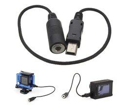 Microfoonkabel 3,5mm voor GoPro Hero 4, 3+ & 3