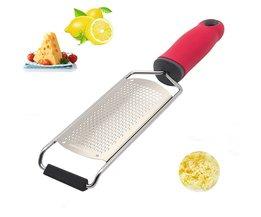 Multifunctionele Keuken Tool Fondue Kaasrasp Citroen Zester met antislip Handvat MOM'S HAND
