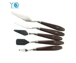 5 stks/partij Crème Schraper Drawshave Gebak Spatels Schilderen Mes Bakken & Gebak Gereedschap Keuken Accessoires YO