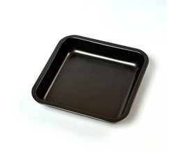 2-Piece Anti-aanbak Bakvormen 8-Inch Vierkante Cake Pan Leeseph