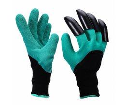 Veiligheid Handschoenen Tuin Handschoenen Rubber TPR 1 Paar Thermo Plastic Bouwers Werk ABS Plastic Klauwen Huishoudelijke Graven Handschoenen Safurance