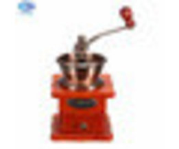 Mini Handkoffiemolen Woodiness Metalen Retro Ontwerp Klassieke Conische Thee Koffieboon Freesmachine alsThuis warmtoo