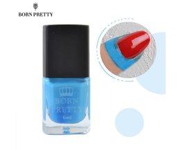 6 ml Geboren Pretty Blue Vloeibare Tape & Peel Off Base Coat Gemakkelijk schoon Zorg Nagellak Art Vloeibare Palissade Nail Art Latex #27296 Born Pretty