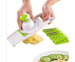 5 stks/set Mandoline Slicer Multifunctionele Keuken Gereedschap Groenten Aardappel Cutter Mes Wortel Ui Rasp Keuken Accessoires TCJJ