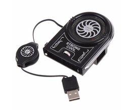 Mini Flexibele Vacuüm LED USB Cooler Air Extraheren Cooling Pad Fan voor Notebook Laptop Perifere Externe Koelventilator JETTING