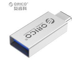 USB Type C Adapter Man USB 3.0 Vrouwelijke USB Type-C OTG Adapter Converter voor Nexus 5X6 P Macbook voor Google Nokia N1 Orico