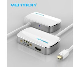 Ventie Thunderbolt HDMI VGA 4 K 2 in 1 Mini Displayport-naar HDMI VGA Adapter Kabel Voor Apple MacBook Pro iMac Mac HDTV projector Vention