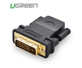 hoogwaardige HDMI naar 24 + 1 Adapter Vrouw naar Man 1080 P HDTV Converter voor PC PS3 Projector TV Box Ugreen