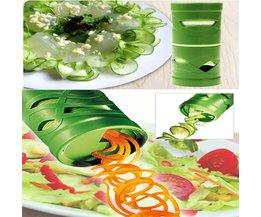 1 stks Groente Fruit Veggie Twister Cutter Slicer Processing Keuken Tool Garneer Fruit & Vegetable Gereedschap Willekeurige Kleur Aihogard