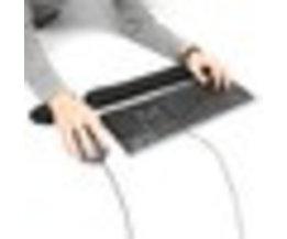 Traagschuim Toetsenbord Polssteun Pad Silicon Muis Polssteun Ondersteuning Zachte Handguard Muismat voor Computer Laptop Gamer S SKYEE