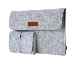 Dodocool Mode Soft Sleeve Bag Case Voor Apple Macbook Air Pro Retina 11 12 13 Laptop anti-kras Cover Voor Mac boek 13.3 inch dodocool
