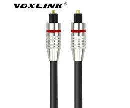 Digitale audio Optische SPDIF kabel OD 6.0 vergulde Toslink Fiber kabel voor Blu-ray CD dvd-speler Xbox 360 PS3  VOXLINK