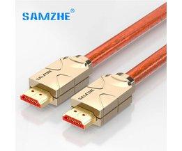 4 K HDMI 2.0 Kabel HDMI naar AV RAC Cabo Connector voor Lapto Tv box Xbox Projector sluit om Grote Scherm Displayer SAMZHE